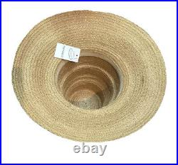 Vintage 30s 40s High Crown Collapsible Hat Made In Italy No Label