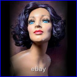 Vintage 60s Mannequin Female Torso Display Distressed Bust Oddity Art Creepy