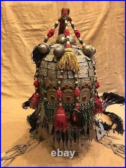 Vintage Afghan Kuchi hat asian ethnic tribal hat decorative hat