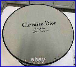 Vintage CHRISTIAN DIOR CHAPEAUX Spring/Summer Hat Paris-New York (1960s/1970s)