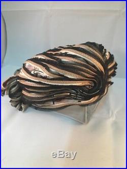 Vintage Christian Dior Chapeaux Paris New-York Exotic Cloche Hat D68