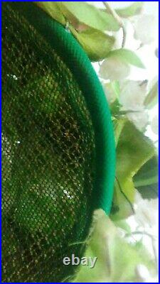 Vintage Christian Dior Lily of the Valley Cloche Hat