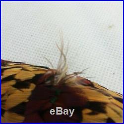 Vintage Elsie Krassas Hawaiian Feather Lei / Hat Band Handcrafted 1960s