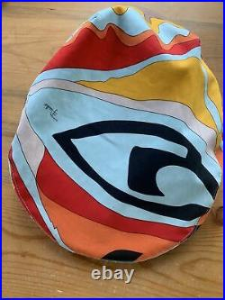 Vintage Emilio Pucci Hat Firenze 60's Era (Amazing Colors!)