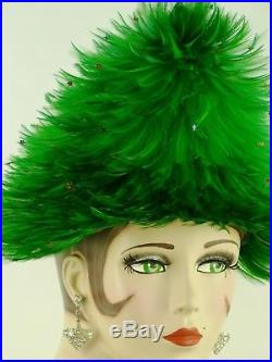 Vintage Hat Jack Mcconnell, The Christmas Collection, The Christmas Tree Hat