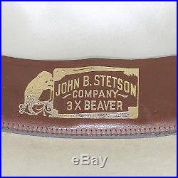 Vintage IOB Stetson Open Road Olive 3X (XXX) Hat 7 Fedora Men, Women's Long Oval