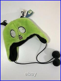 Vintage Invader Zim Gir Beanie Hat Cap Nickelodeon Cartoon Promo Adult Swim Hot