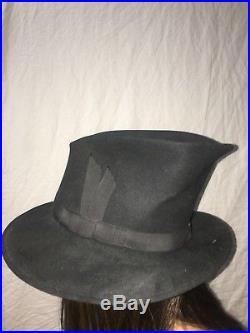 Vintage PHILIP TREACY London Hat Black