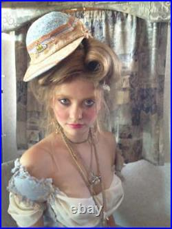 Vintage Vintage Vivienne Westwood 1994 Cafe Society Cricket Hat Cap M Rare #4788