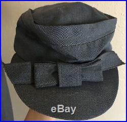 Vintage Womens American Red Cross WWII Nurse Wool Suit Uniform Coat Skirt Hat