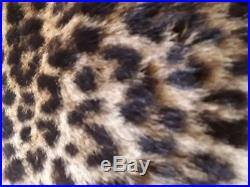 Vintage real leopard skin muff hat and collar 30 s 40, s Sacrifice