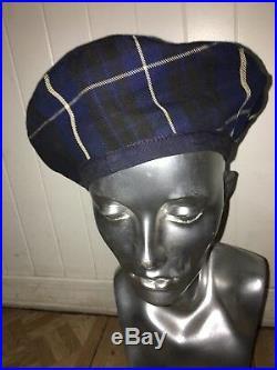 Vivienne Westwood Check Cotton Hat