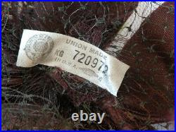 Vtg 30s 40s 50s Womens Hat Lot 7 Pc Floral Band Flapper Union Made Lace Velvet