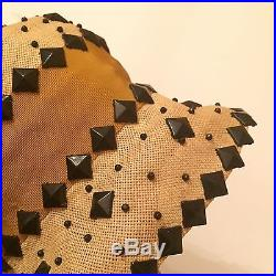 Vtg STUNNING Original 1920s Flapper Cloche Deco Hat MINT