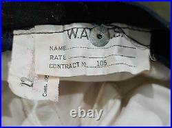 WWII WAVES Women's US Navy Uniform Hat (Size 22) Original Vintage 1940s Enlisted
