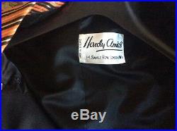 Womans Vintage Hardy Amies Bespoke Silk Coat Dress & Pill Box Hat 1960s Unworn