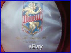 Womens 1940s Vintage Ducap Lisboa Black Felt Gaucho Hat