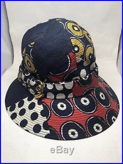 Yves Saint Laurent Vintage Safari Hat Paris Designer 1960s